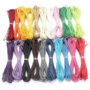 10M 1mm Waxed Wax Cotton Cord String Linen Thread Wire Jewellery Bracelet Making