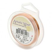 Artistic Wire 50 yd 30 Gauge Wire, Bare Copper
