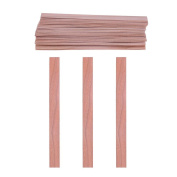 Vanpower 50pcs Wood Wicks for Candles Soy or Palm Wax Candle Making Supplies
