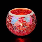 Hunpta Handmade Mosaic Glass Candlestick Wedding Wedding Ornaments That Props Gifts