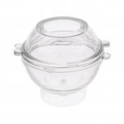 Sharplace Round Sphere Shaped Candle Mould For DIY Soap Candle Making Craft - 6cm