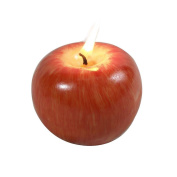BeautyBouse Red Apple Shape Candle Valentine's Day Gift Creative Birthday Wedding Aromatherapy