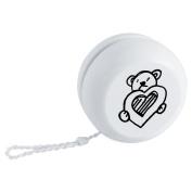 'Teddy Bear With Heart' Retro Style Yo-Yo