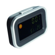 Maplin Desktop LCD Display Weather Clock With Coloured Backlight Alarm Calendar