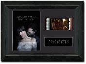 Fifty Shades FREED 35 mm FRAMED Film Cell Display Stunning Collectable NEW Christian Grey Jamie Dornan s1