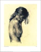 The Art Group Girl Charlie Mackesy Art Print, Paper, Multi-Colour, 40 x 50 x 1.3 cm