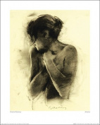 The Art Group Antonia Charlie Mackesy Art Print, Paper, Multi-Colour, 40 x 50 x 1.3 cm