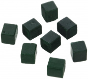 Harbour Sales HWB14a Beeswax for Candlemaking, Crafts and Encaustic Painting, Dark Green