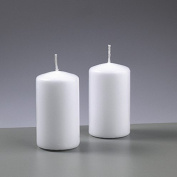 Candle White 50 mm Diameter x Height