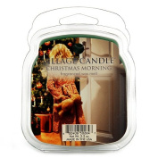 Village Candle Christmas Morning Wax Melt, Green