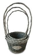 Basket Home Grey S/3