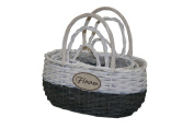 Baskets Welcome S/3
