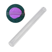 OUNONA Acrylic Clay Roller Craft Tool with Acrylic Sheet Backing for Shaping and Sculpting