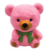 Malloom Cartoon Cute Bear Squishy Slow Rising Cream Scented Valentine's Day Gift Toy,11*9.5*15cm