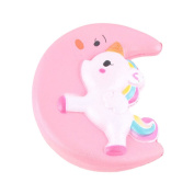 HENGSONG Cute Unicorn Whale Squishies Toy Soft Toy Slow Rising Relieves Stress Gifts