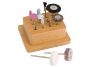 12 Piece Polishing Kit for Precious Metal Clay, Art Clay Silver, PMC Clay and Precious Metal Jewellery