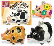 Ceramic Money box Painting Arts & Craft Kit Childrens Birthday Christmas Gift Ideas