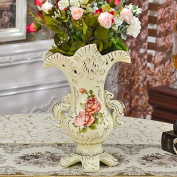 YUYUAN Continental home decoration ceramic vases flower pots wedding , a12