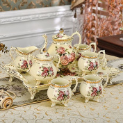 YUYUAN Home Gifts Crafts gifts ornaments ceramic coffee tea set