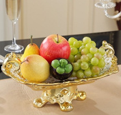 YUYUAN Family-style ceramic candy dish Compote luxury home living room accessories