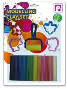 Pennine Modelling Clay Set, Multi-Colour
