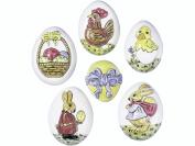 KNORR prandell Easter Eggs Moulds, Transparent