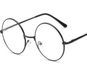 J*myi Pull Fashion Glasses Nerd Glasses Retro Round Neutral