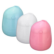 Bazaar USB Portable Mini Humidifier Air Purifier for Baby Room with Water Bottle