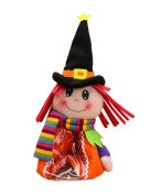 Smile YKK Kids Halloween Candy Cartoon Dolls Bags Presents Decorations Red