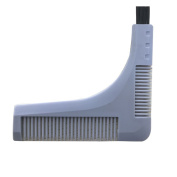 Mens Double-edged Beard Trim Shaping Styling Kit Hair Clipper Model Comb