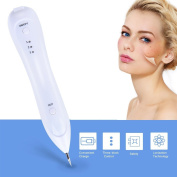 Mole Removal Pen, Zarsson Portable Skin Tag Removal Tool Kit, Professional Beauty Pen for Body Facial Freckle Nevus Warts Age Spot Tattoo Remover with USB Rechargeable