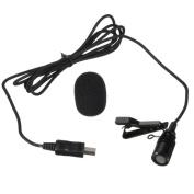 1.2m Mini USB Interface External Microphone for GitUp 2, GitUp 3 Firefly 8s GoPro Hero4 SJCAM SJ6 SJ7 SJ360 Action Camera