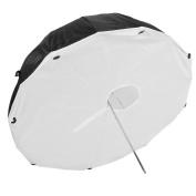 '41/105 cm Parabolic Umbrella Soft Box Studio Umbrella Reflector Photo Umbrella Diffuser Umbrella Black/White with front Diffuser From Life Of Photo