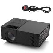 LED WIFI Projector, VBESTLIFE Mini WiFi Smart Projector 1500ANSI LM 800*480 VGA Home Theatre Projector for Android