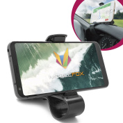 Mobilefox Car Jaws Holder Dashboard Mobile Phone Cradle Mount for LG G6 G5 G4 G3