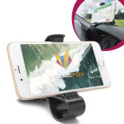 Mobilefox Universal Car Jaws Dashboard Mobile Phone Holder Clip Mount for Smartphone