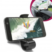 Mobilefox Car Jaws Holder Dashboard Mobile Phone Cradle Mount for HTC 10 Desire