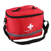 Ulable Sports Camping Home Medical Emergency Survival First Aid Kit Bag Outdoors