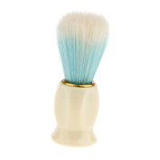 Sharplace Home Salon Barber Cleaning Hairbrush - Hair Sweep Brush Hairdressing Neck Face Duster Brush -Soft Hair Styling Tool - Blue, as described