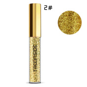 KaloryWee Beauty Metallic Shiny Smoky Eyes Eyeshadow Waterproof Glitter Liquid Eyeliner