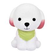 Puppy Squeeze Toys, Xshuai 12cm Jumbo Squishy Cute Puppy Scented Cream Slow Rising Relieve Stress Squeeze Cure Decompression Toys Gift for Kids