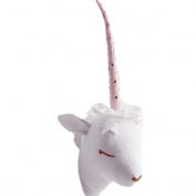 Homeofying Lovely Animal Unicorn Wall Hanging Toy Dolls Wall Decor for Baby Kids Room Decor