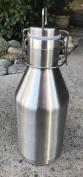 Stainless Steel Vacuum Insulated Beer Growler, 1890ml