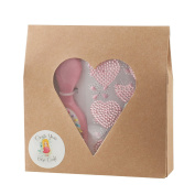 CREATE YOUR OWN CRAFT Valentine's Day crafts kit for girls-hairbrush with heart bling girls stickers. Educational fun DIY craft kit includes LOTS of extra stickers, great for Valentine's Day gifting.