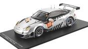 2013 Porsche 911 GT3 RSR Patrick Dempsey Le Mans in 1:18 Scale by Spark