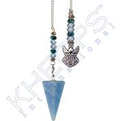 Kheops International - Hexagonal Pendulum Angelite - Angel