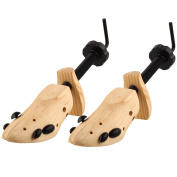Sibba 2X Unisex Shoe Stretchers/3-Way Expanders For Stretching Shoes - Expands Length, Width & height Of Tight Footwear