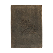 Greenburry Unisex 328-stag-30Kids' Wallet Green olive One size