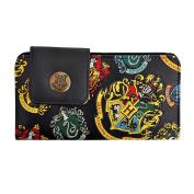 Harry Potter Wallet with Hogwarts Sigil Black 18x9.5cm