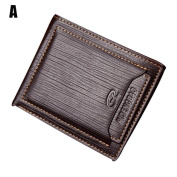 Pomineer Fashion Men's Leather Wallet ID Credit Card Holder Clutch